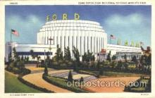 exp100162 - Ford Building 1933 Chicago, Illinois USA Worlds Fair Exposition Postcard Post Card