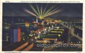 exp100183 - 1933 Chicago, Illinois USA Worlds Fair Exposition Postcard Post Card