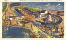 exp100188 - Enchanted Island 1933 Chicago, Illinois USA Worlds Fair Exposition Postcard Post Card