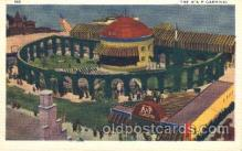 exp100196 - The A & P Carnival 1933 Chicago, Illinois USA Worlds Fair Exposition Postcard Post Card