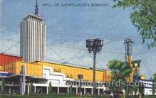 exp100202 - Hall of Science 1933 Chicago, Illinois USA Worlds Fair Exposition Postcard Post Card