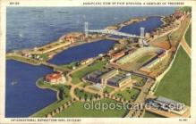 exp100205 - 1933 Chicago, Illinois USA Worlds Fair Exposition Postcard Post Card