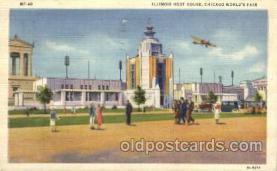 exp100216 - Illinois Host House 1933 Chicago, Illinois USA Worlds Fair Exposition Postcard Post Card