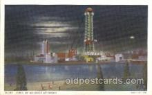 exp100221 - Hall of Science 1933 Chicago, Illinois USA Worlds Fair Exposition Postcard Post Card