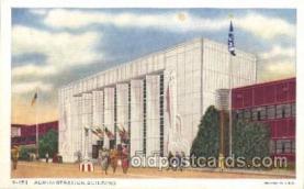 exp100260 - Giant Fountain 1933 Chicago, Illinois USA Worlds Fair Exposition Postcard Post Card