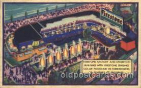 exp100263 - Illinois Host House 1933 Chicago, Illinois USA Worlds Fair Exposition Postcard Post Card
