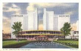 exp100266 - 1933 Chicago, Illinois USA Worlds Fair Exposition Postcard Post Card