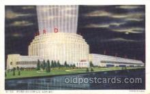 exp100269 - General Motors Building 1933 Chicago, Illinois USA Worlds Fair Exposition Postcard Post Card