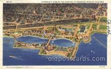 exp100274 - Panoramic view Chicago Worlds Fair 1933, Exposition Postcard Post Card