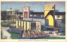 exp100279 - Time and Fortune building Chicago Worlds Fair 1933, Exposition Postcard Post Card
