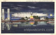 exp100289 - Electrical building, by night Chicago Worlds Fair 1933, Exposition Postcard Post Card