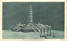 exp100291 - The green jade pagoda Chicago Worlds Fair 1933, Exposition Postcard Post Card