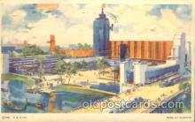 exp100292 - Hall of Science Chicago Worlds Fair 1933, Exposition Postcard Post Card