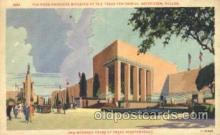 exp110009 - Food Products Building Texas Centenial 1936 Exposition Postcard Post Card