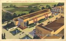 exp110019 - The agricultural Texas Centenial 1936 Exposition Postcard Post Card
