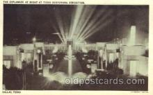 exp110029 - Esplanade of state Texas Centenial 1936 Exposition Postcard Post Card