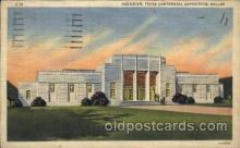 exp110086 - Aquarium 1936 Dallas Texas USA, Centenial Exposition Postcard Post Card
