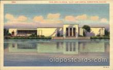 exp110092 - Fine Arts Museum 1936 Dallas Texas USA, Centenial Exposition Postcard Post Card