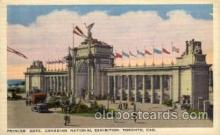 exp120006 - Princes Gate, Canadian National Exposition, Toronto Canada, 1936 Worlds Fair Postcard Post Card
