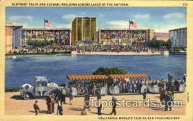 exp130001 - Golden Gate Exposition 1939 - 1940, California World's Fair on San Francisco Bay, Postcard Post Card