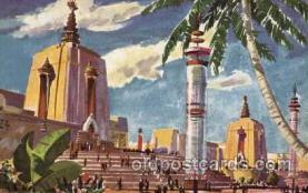 exp130004 - Golden Gate Exposition 1939 - 1940, California World's Fair on San Francisco Bay, Postcard Post Card