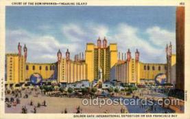 exp130005 - Golden Gate Exposition 1939 - 1940, California World's Fair on San Francisco Bay, Postcard Post Card