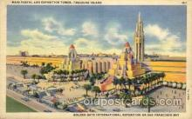 exp130006 - Golden Gate Exposition 1939 - 1940, California World's Fair on San Francisco Bay, Postcard Post Card