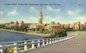 exp130010 - Golden Gate Exposition 1939 - 1940, California World's Fair on San Francisco Bay, Postcard Post Card