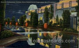 exp130011 - Golden Gate Exposition 1939 - 1940, California World's Fair on San Francisco Bay, Postcard Post Card