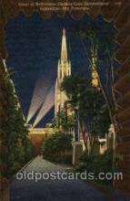 exp130016 - Golden Gate Exposition 1939 - 1940, California World's Fair on San Francisco Bay, Postcard Post Card