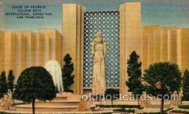 exp130022 - Golden Gate Exposition 1939 - 1940, California World's Fair on San Francisco Bay, Postcard Post Card