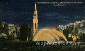 exp130027 - Golden Gate Exposition 1939 - 1940, California World's Fair on San Francisco Bay, Postcard Post Card