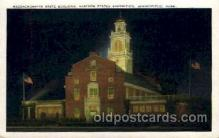 exp140004 - Eastern States Exposition, Springfield, Mass. 1935 USA, Postcard Post Card
