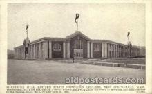 exp140007 - Eastern States Exposition, Springfield, Mass. 1935 USA, Postcard Post Card