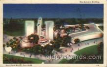 exp150002 - New York Worlds Fair 1939 exhibition postcard Post Card