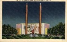 exp150009 - New York Worlds Fair 1939 exhibition postcard Post Card