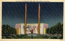 exp150010 - New York Worlds Fair 1939 exhibition postcard Post Card