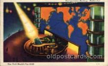 exp150016 - New York Worlds Fair 1939 exhibition postcard Post Card