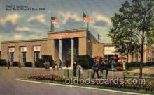 exp150019 - New York Worlds Fair 1939 exhibition postcard Post Card