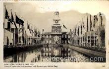 exp150025 - New York Worlds Fair 1939 exhibition postcard Post Card