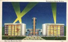 exp150028 - New York Worlds Fair 1939 exhibition postcard Post Card