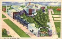 exp150029 - New York Worlds Fair 1939 exhibition postcard Post Card