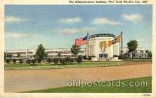 exp150031 - New York Worlds Fair 1939 exhibition postcard Post Card
