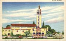exp150033 - New York Worlds Fair 1939 exhibition postcard Post Card