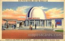 exp150034 - New York Worlds Fair 1939 exhibition postcard Post Card