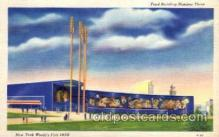 exp150046 - New York Worlds Fair 1939 exhibition postcard Post Card