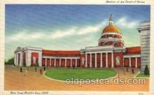 exp150052 - New York Worlds Fair 1939 exhibition postcard Post Card