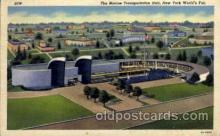 exp150057 - New York Worlds Fair 1939 exhibition postcard Post Card
