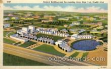 exp150058 - New York Worlds Fair 1939 exhibition postcard Post Card