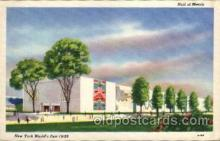 exp150061 - New York Worlds Fair 1939 exhibition postcard Post Card